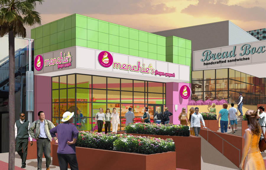 Menchies at CityWalk - Rendering