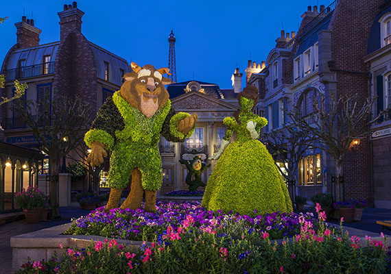 A French Connection at Epcot International Flower & Garden Festival