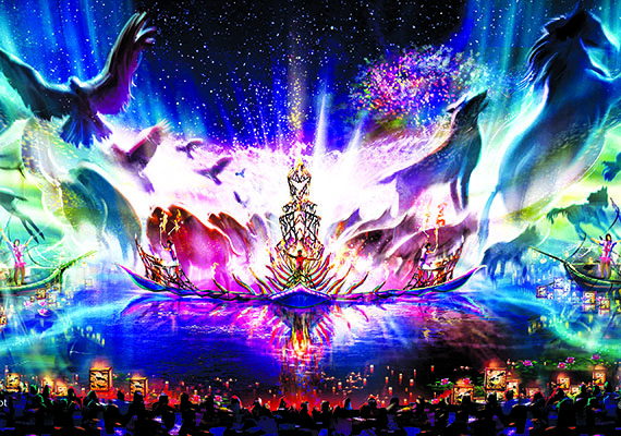 """New Details on """"Rivers of Light"""" Nighttime Spectacular Coming to Disney's Animal Kingdom"""